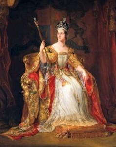 1838 - Queen Victoria coronation portrait by George Hayter 1