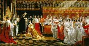 1838 - Queen Victoria coronation portrait by George Hayter 2