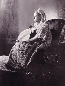 1897 Queen Victoria in Diamond Julbilee photograph by W&D Downey