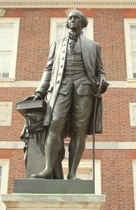 Independence Hall - George Washington Statue