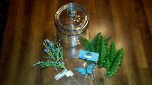 Butterfly in a Jar - supplies