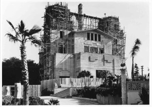 Hearst Castle - construction