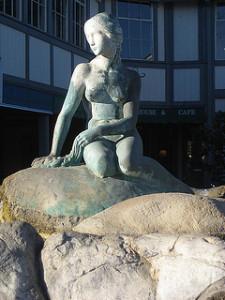 Solvang - Little Mermaid statue