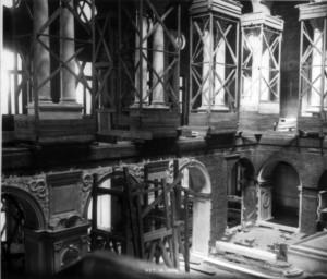 Great Hall construction