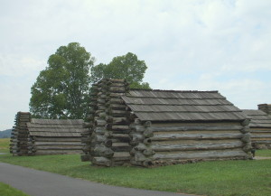 Log housing for the troops 1