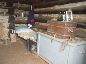 officer's quarters interior right