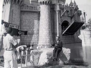 Walt Disney opening day