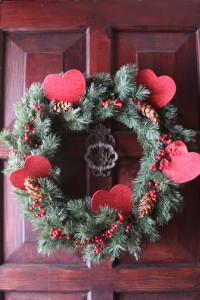 2012 Queen of Hearts party wreath