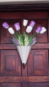2014 Spring Front door wreath