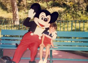 Mickey Mouse at Disneyland 1
