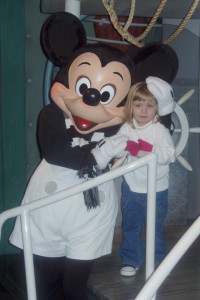 Mickey Mouse at Disneyland 2