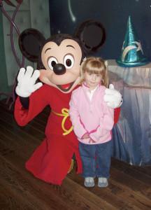 Mickey Mouse at Disneyland 3