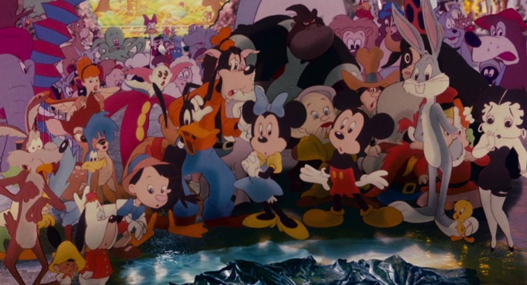 Mickey in Roger Rabbit