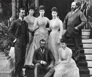 Prince ALbert later King Edward VII family