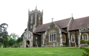 Sandringham Christmas - St Mary Magdalene church