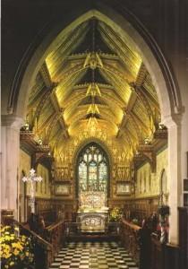 Sandringham Christmas - St Mary Magdalene church - interior