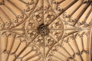 Ceiling of the Anne Boleyn Gatehouse