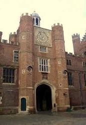 Hampton Court - Clock Tower 1
