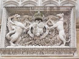 Hampton Court - King Henry VIII coat of arms