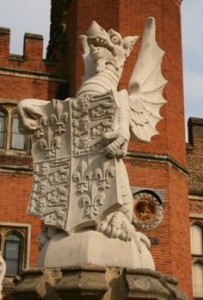 Hampton Court - King's Beasts 2
