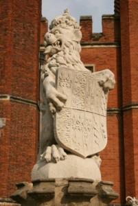 Hampton Court - King's Beasts 3
