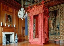 Hampton Court  Queen's Bedchchamber