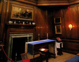 Hampton Court - Queen's Private Oratory