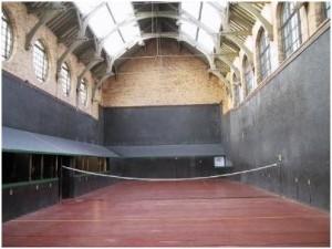 Hampton Court- Tennis Court interior