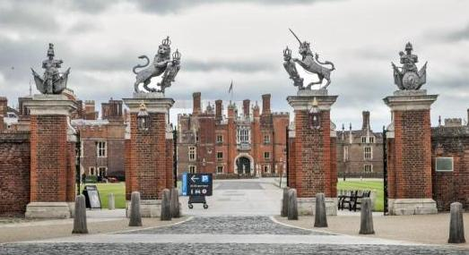 Hampton Court - main entrance 1