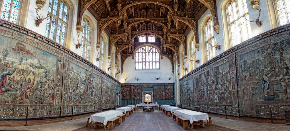 Hampton Court - the Great Hall - interior
