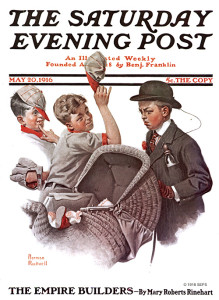 First Saturday Evening Post - Mother's Day Off