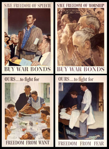 Norman Rockwell - Four Freedoms