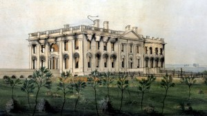 The President's House - lithograph 1905