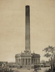 Washington Mounument - original design