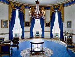 White House - Blue room