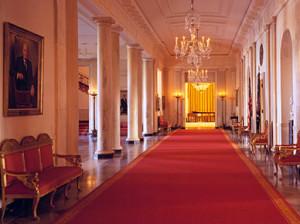 White House  - Cross Hall
