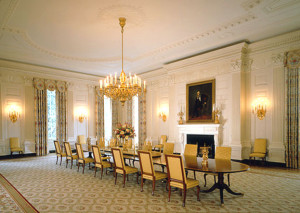 White House - State Dining room