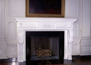 White House - inscription by John Adams 1