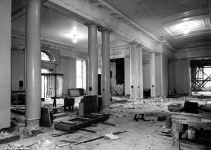 White House - renovation Entrance Hall