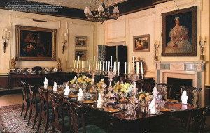 Clarence House - Dining Room