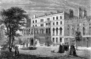 Clarence House - engraving 1874