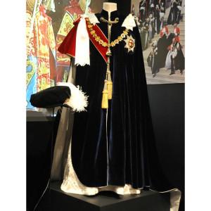 Order of the Garter  - mantle and bonnet