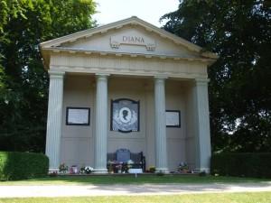 Althorp - Diana Memorial
