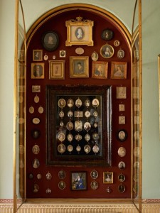 Althorp - South Drawing Room - miniature collection
