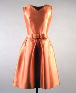 Apricot dress 1