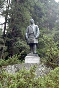 Balmoral - John Brown statue