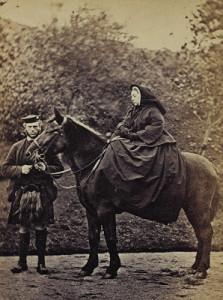 Balmoral - Queen Victoria and John Brown 1868