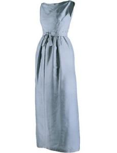 Blue evening dress 1
