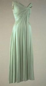 Celedon evening dress 1