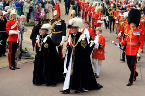 Garter Day - Queen Elizabeth and Prince Phillip 1